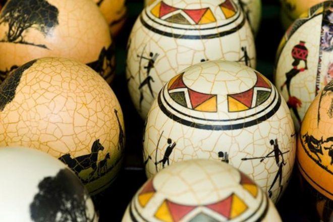Rosebank African Craft Market Johannesburg South Africa