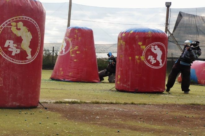 Blades and Triggers Paintball Park, Boksburg