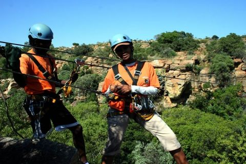 Magaliesberg Canopy Tour Eastern Region South Africa