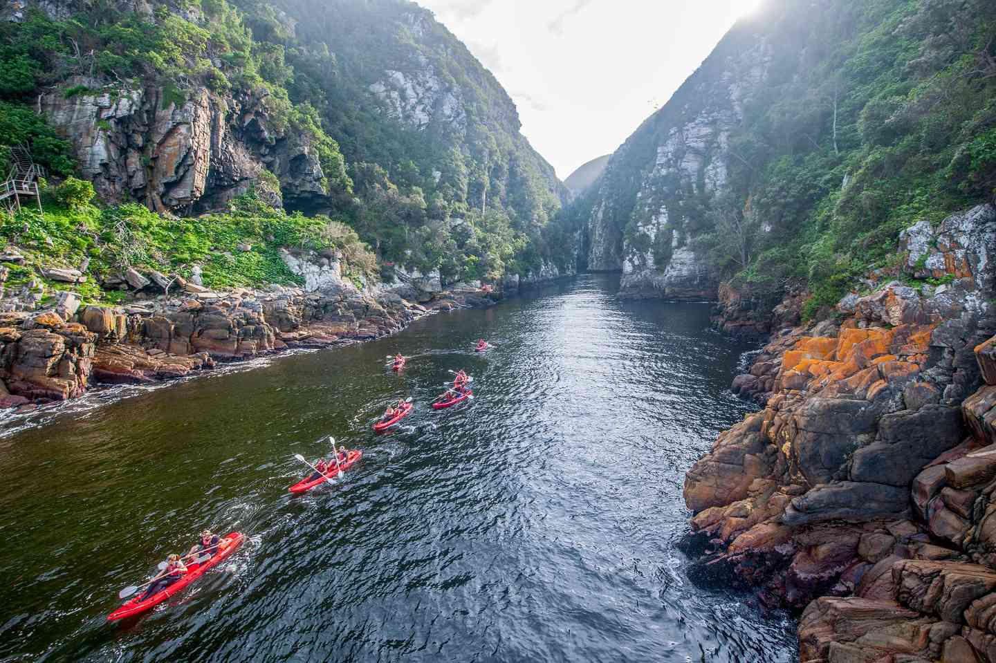 kayaking and lilo u0026 39 s on the storm u2019s river   garden route