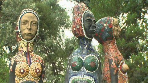 Que suis-je Martine 10/02 - bravo Ajonc Bloemfontein_national_museum_sculpture_mosaic