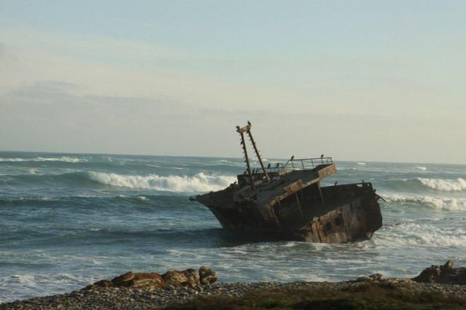Shipwrecks Along South Africa's Coast