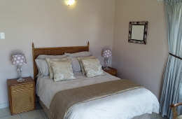 Bedroom with double bed plus 2 single beds