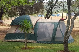 Campsite With Tent