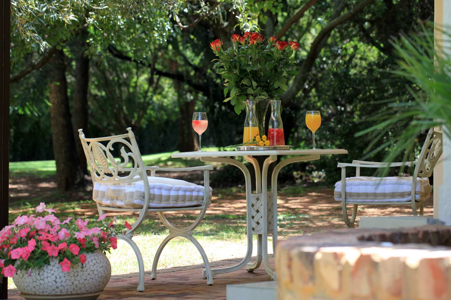 Outdoor Day Beds Gauteng : Andante lodge pretoria south africa