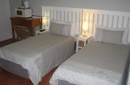 Bedroom - Twin beds or King Bed, together with a day bes