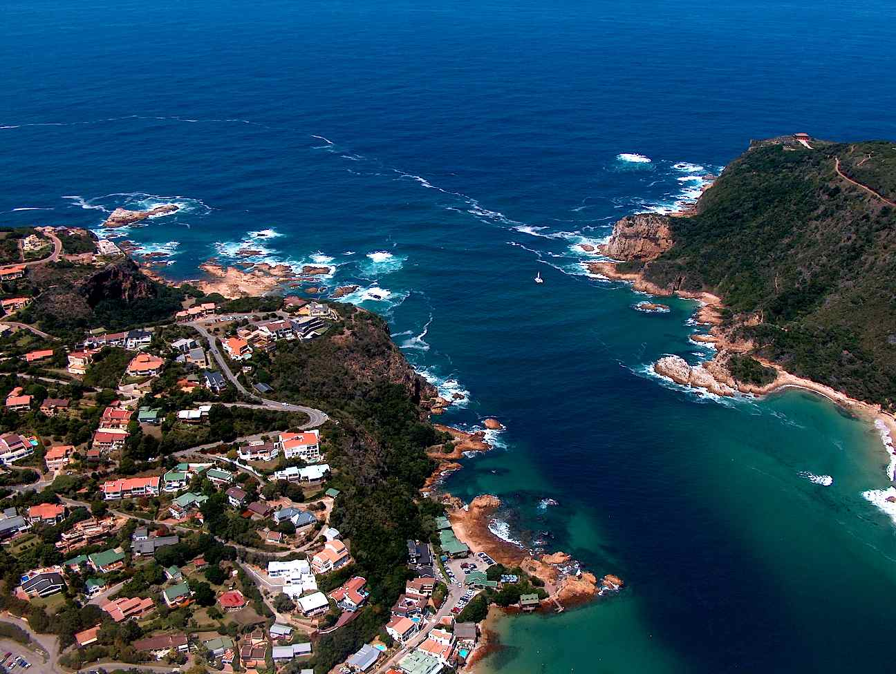 augusta bay  knysna  south africa