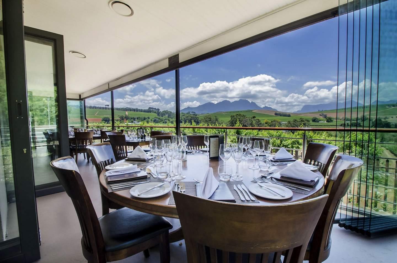 Clos Malverne Wine Estate Restaurant Stellenbosch South Africa