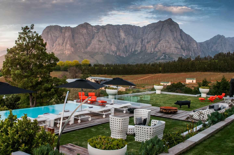 Clouds Estate Stellenbosch South Africa