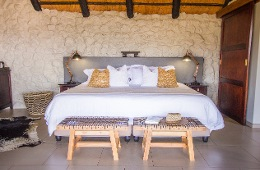 Luxury Rock and Thatch Chalets