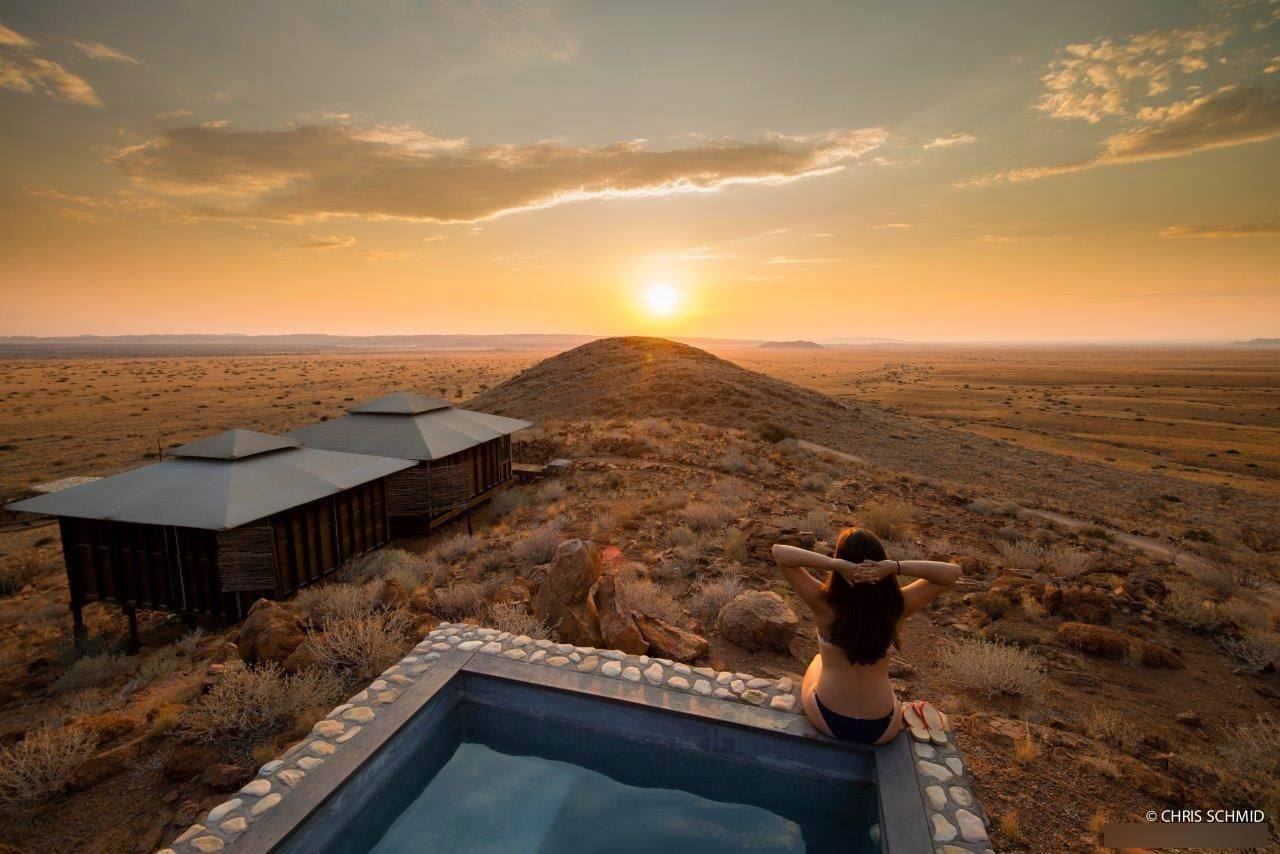 Moon Mountain Lodge  Maltah U00f6he  Namibia