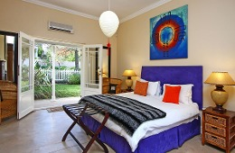 Master Bedroom with King Bed and Air-con