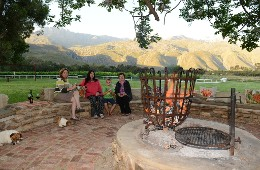 Oaksrest Vineyards Guest Farm Ladismith