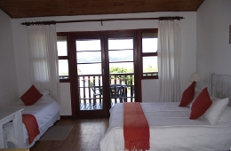 The Brenton - Double Chalet Bedroom