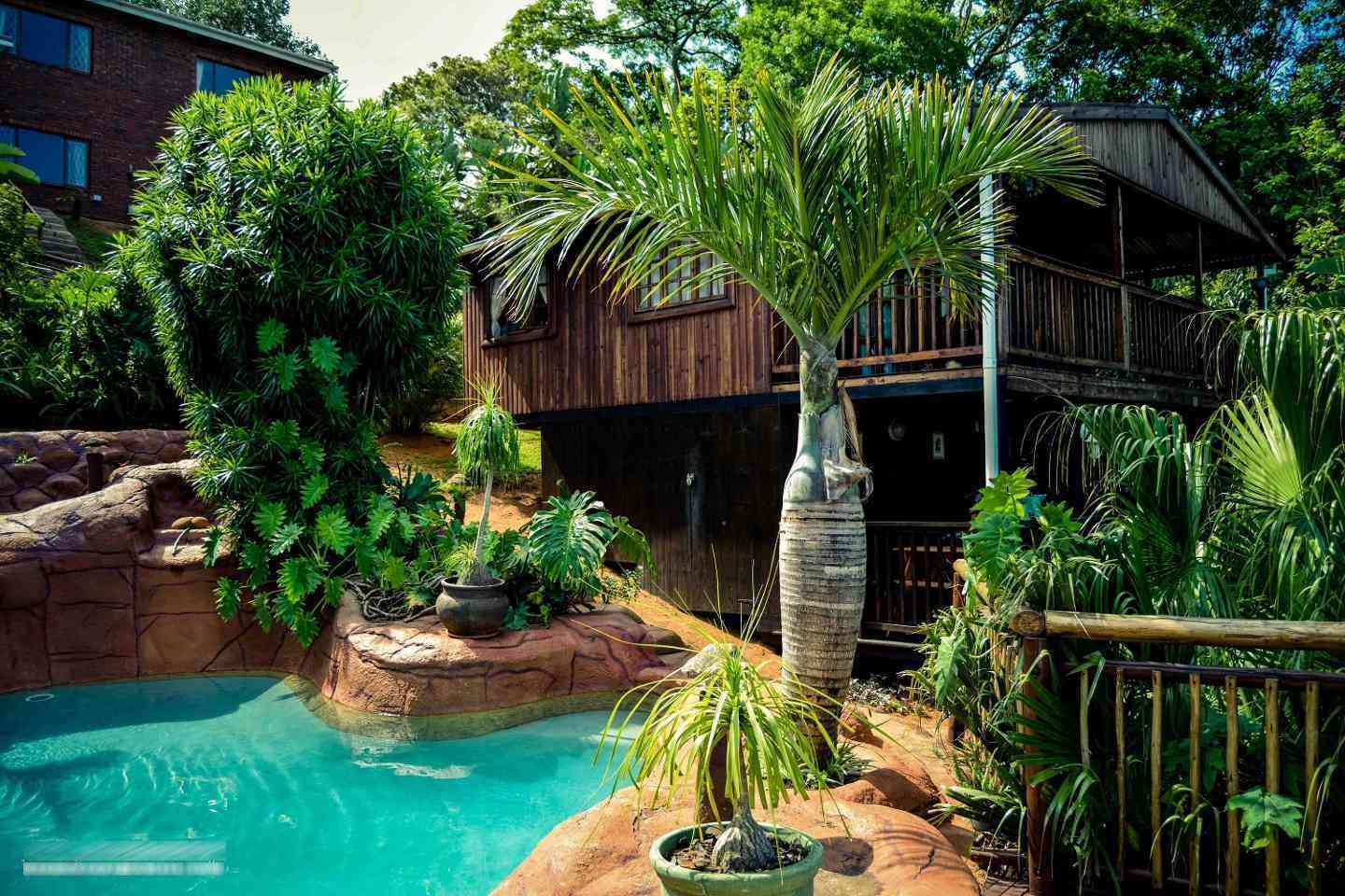 Guest House Pool Houses: Rocky Pool Guest Cottage, Durban, South Africa