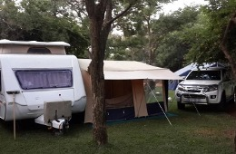 Camping sites - own caravans or tents required