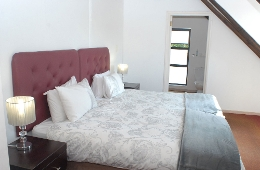 Flat 3 (upstairs) - Second Room - sleeps 2 (2 x three-quarter beds)