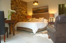 Contemporary Stone Bed