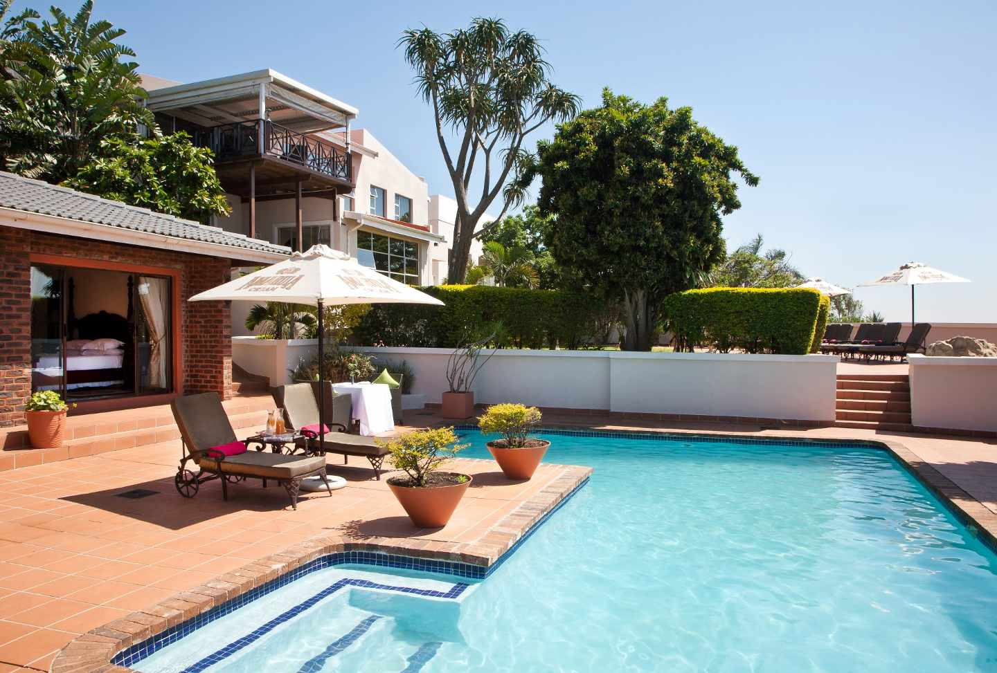 The view boutique hotel spa durban south africa for Boutique hotel spa