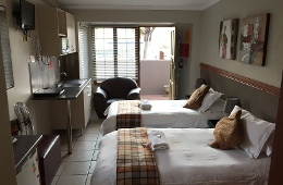 Self catering: Double Room with Shower (Room 13)
